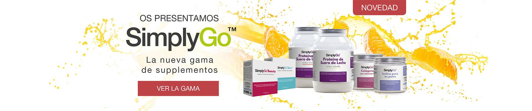 Os presentamos SimplyGo - La nueva gama de supplementos