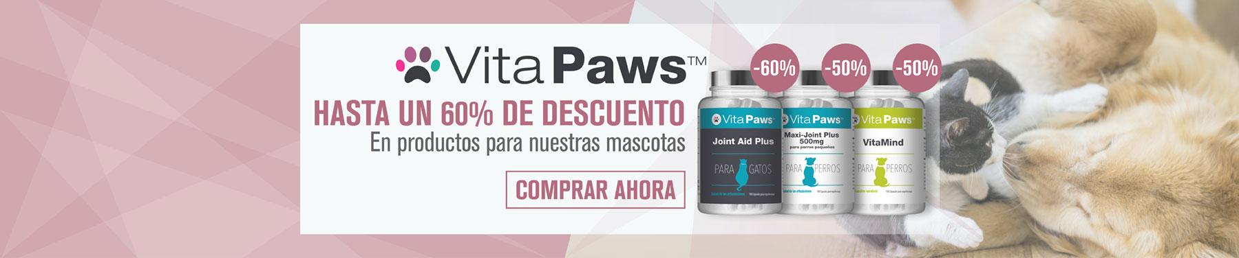 VitaPaws - Hasta un 60% de descuento