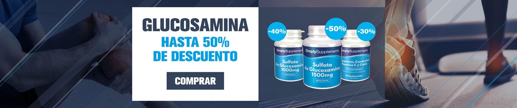 Glucosamina - Hasta 50% de descuento