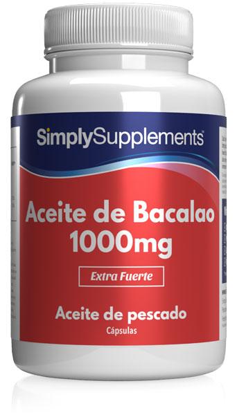Aceite de Bacalao 1000 mg