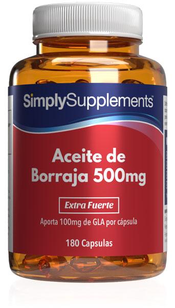 Aceite de Borraja 500mg