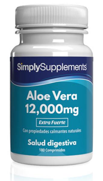 Aloe Vera 12,000mg Extra Fuerte