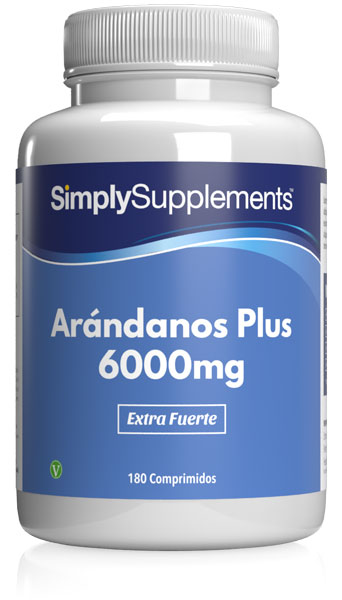 Arándanos Plus 6000mg