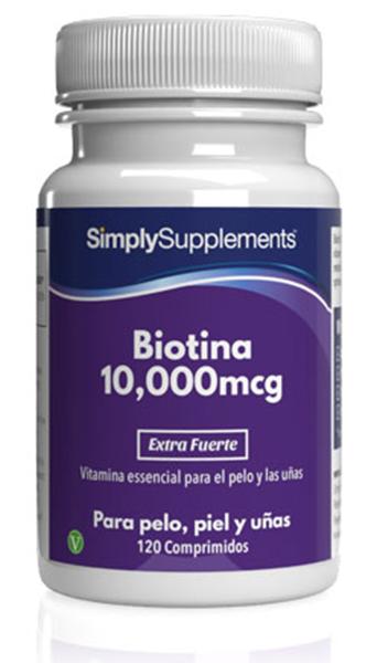 Biotina 10,000mcg