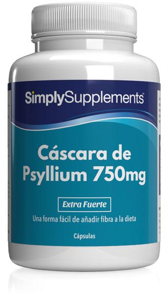 Cáscara de Psyllium 750mg
