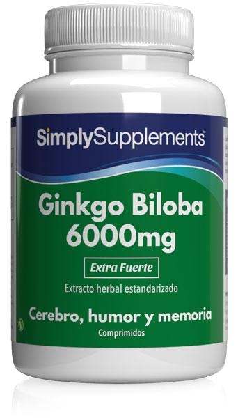 Ginkgo Biloba 6000mg