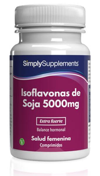 Isoflavonas de Soja 5000mg