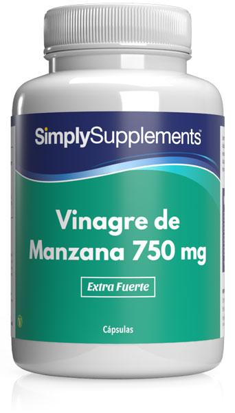 Vinagre de Manzana 750 mg