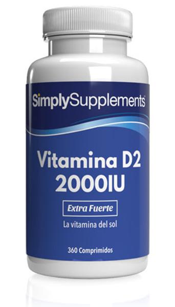 Vitamina D2 2000iu