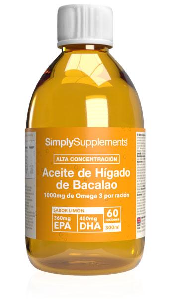 Aceite de Hígado de Bacalao Líquido