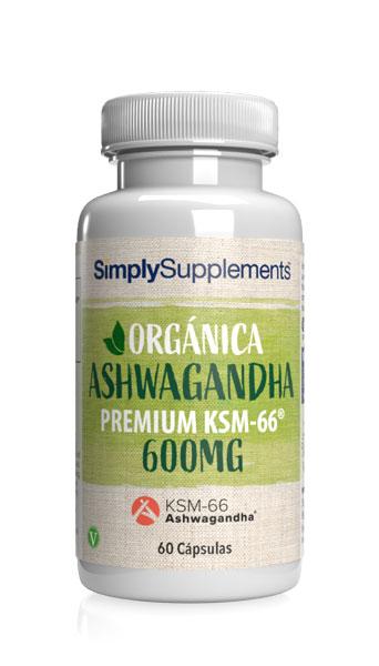 Orgánica - Ashwagandha KSM-66® 600mg