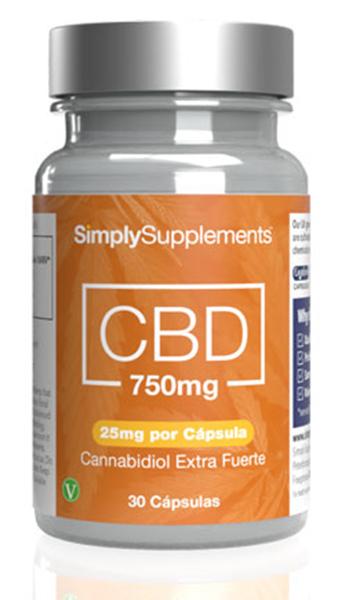 CBD 750mg (25mg por cápsula)