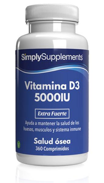 Vitamina D3 5000iu Extra Fuerte