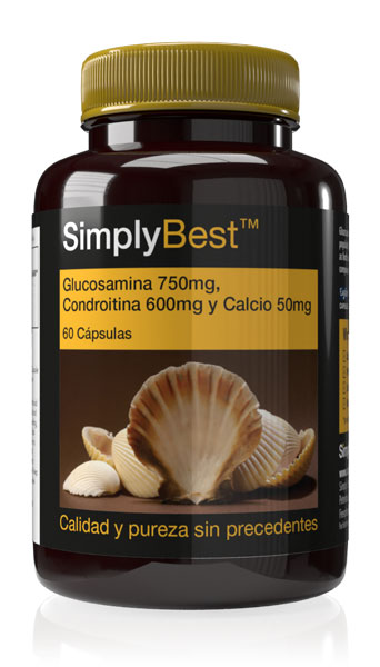 Glucosamina,Condroitina y Calcio Extra Fuerte