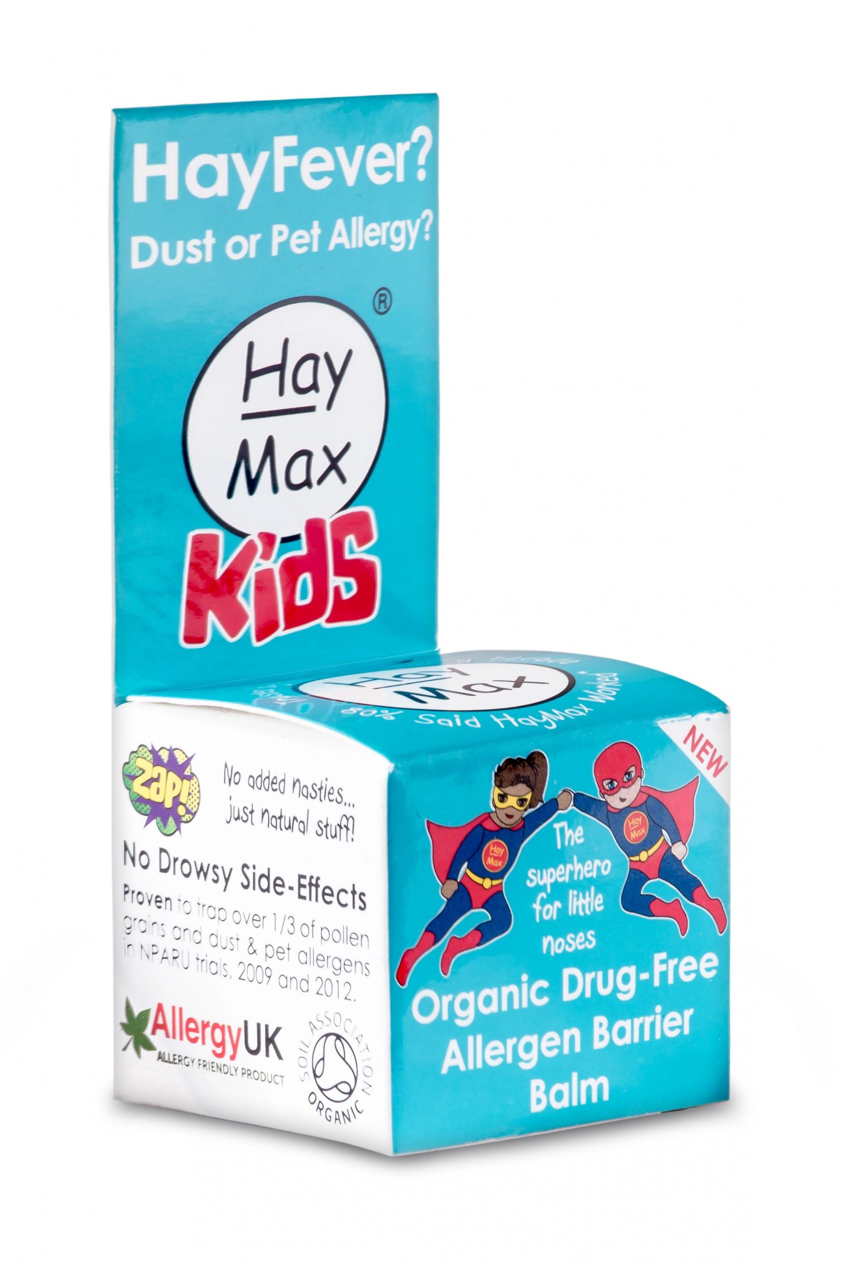 Bálsamo anti alergénico para niños HayMax