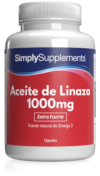 Aceite de Linaza 1000mg