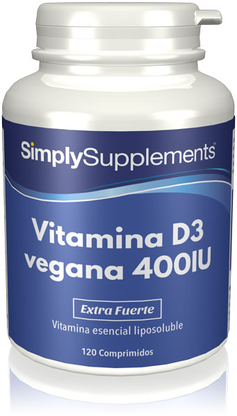 Vitamina D3 vegana 400IU