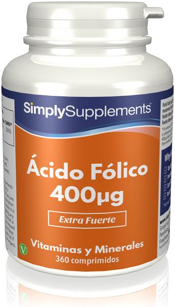 Ácido Fólico (Vitamina B9) 400mcg