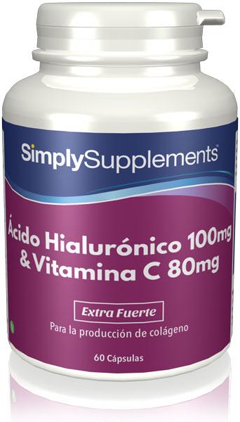 Ácido Hialurónico 100 mg & Vitamina C 80 mg