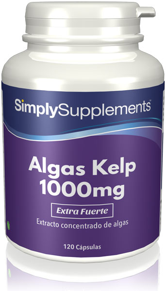 Algas Kelp 1000mg