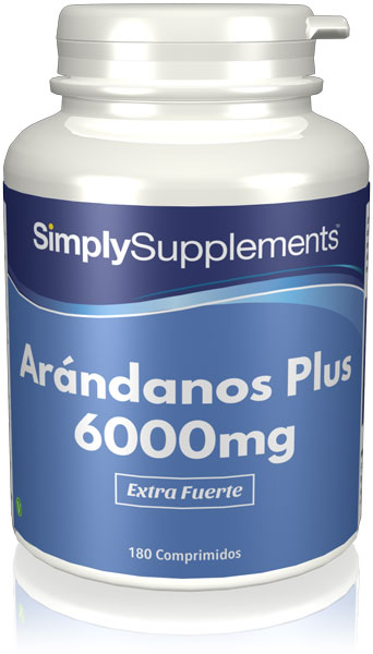 Arándanos Plus 6000mg