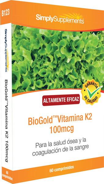 BioGold Vitamina K2 100 mcg