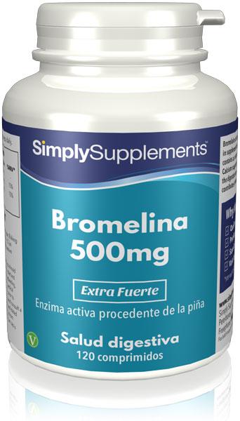 Bromelina 500mg