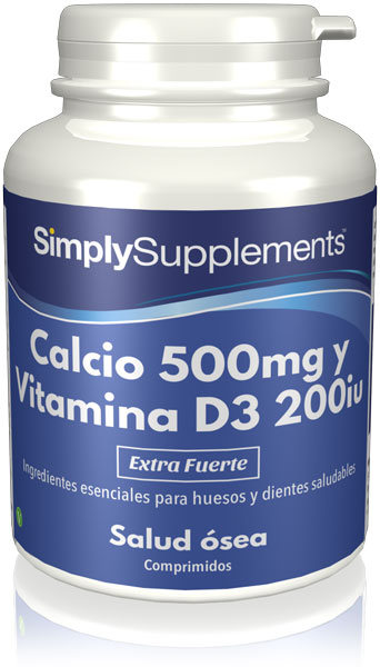 Calcio 500mg | Vitamina D3 200iu
