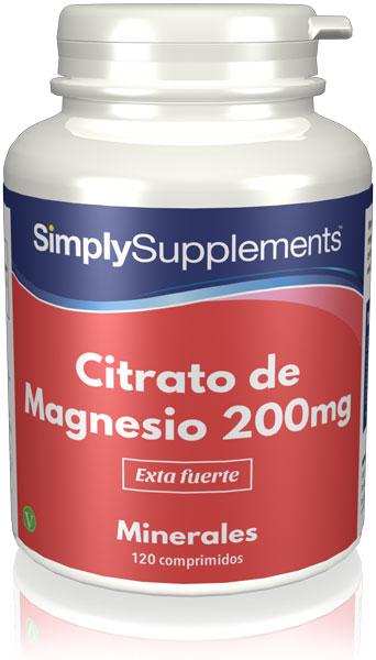 Citrato de Magnesio 200mg
