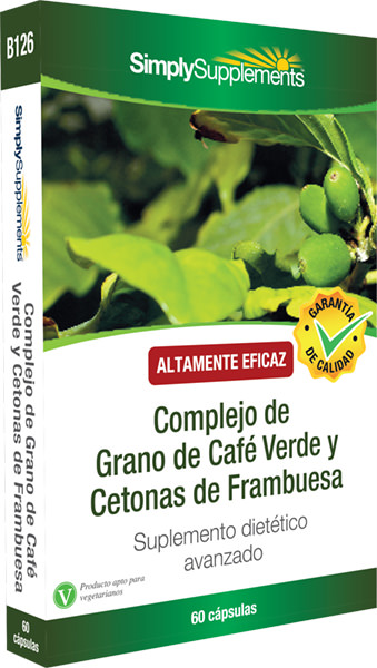Complejo de Grano de Café Verde y Cetonas de Frambuesa