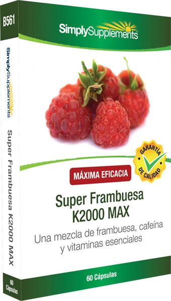 Super Frambuesa K2000 MAX
