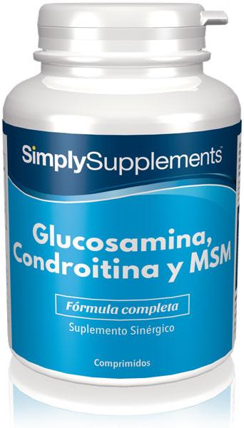 Glucosamina, Condroitina y MSM