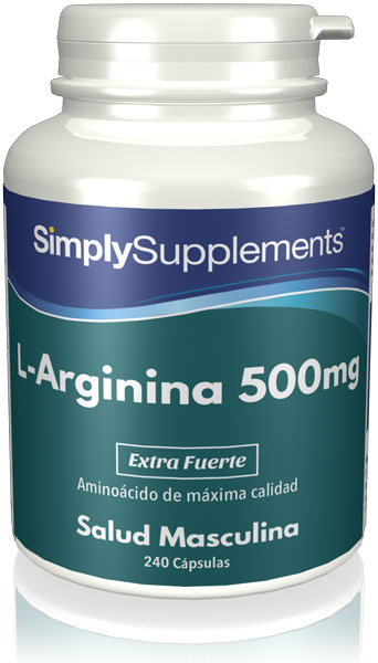 L-Arginina 500mg