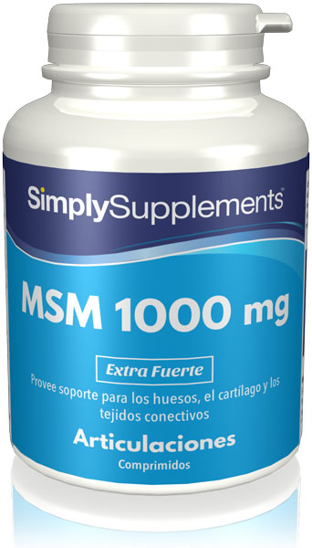 Metilsulfonilmetano - MSM 1000 mg