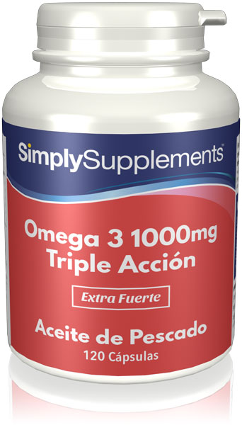 Omega 3 1000mg Triple Acción