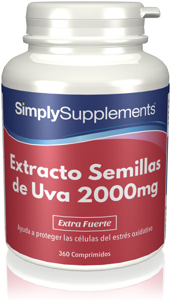 Extracto Semillas de Uva 2000mg