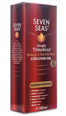 Seven Seas, Aceite de hígado de bacalao extra fuerte
