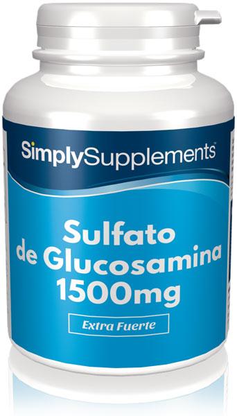Sulfato de Glucosamina 1500mg