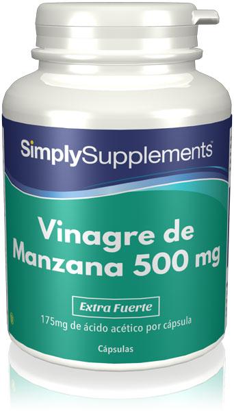 Vinagre de Manzana 500 mg