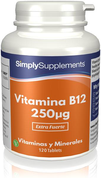 Vitamina B12 250mcg
