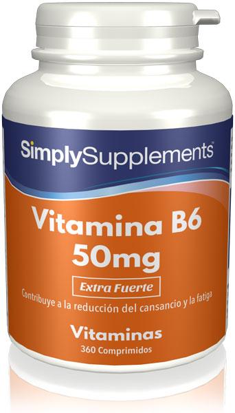 Vitamina B6 50mg