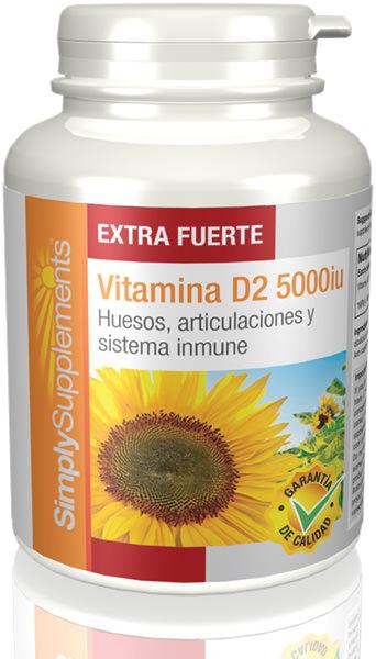 Vitamina D2 5000iu Extra Fuerte