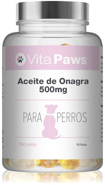 Aceite de Onagra 500mg para Perros